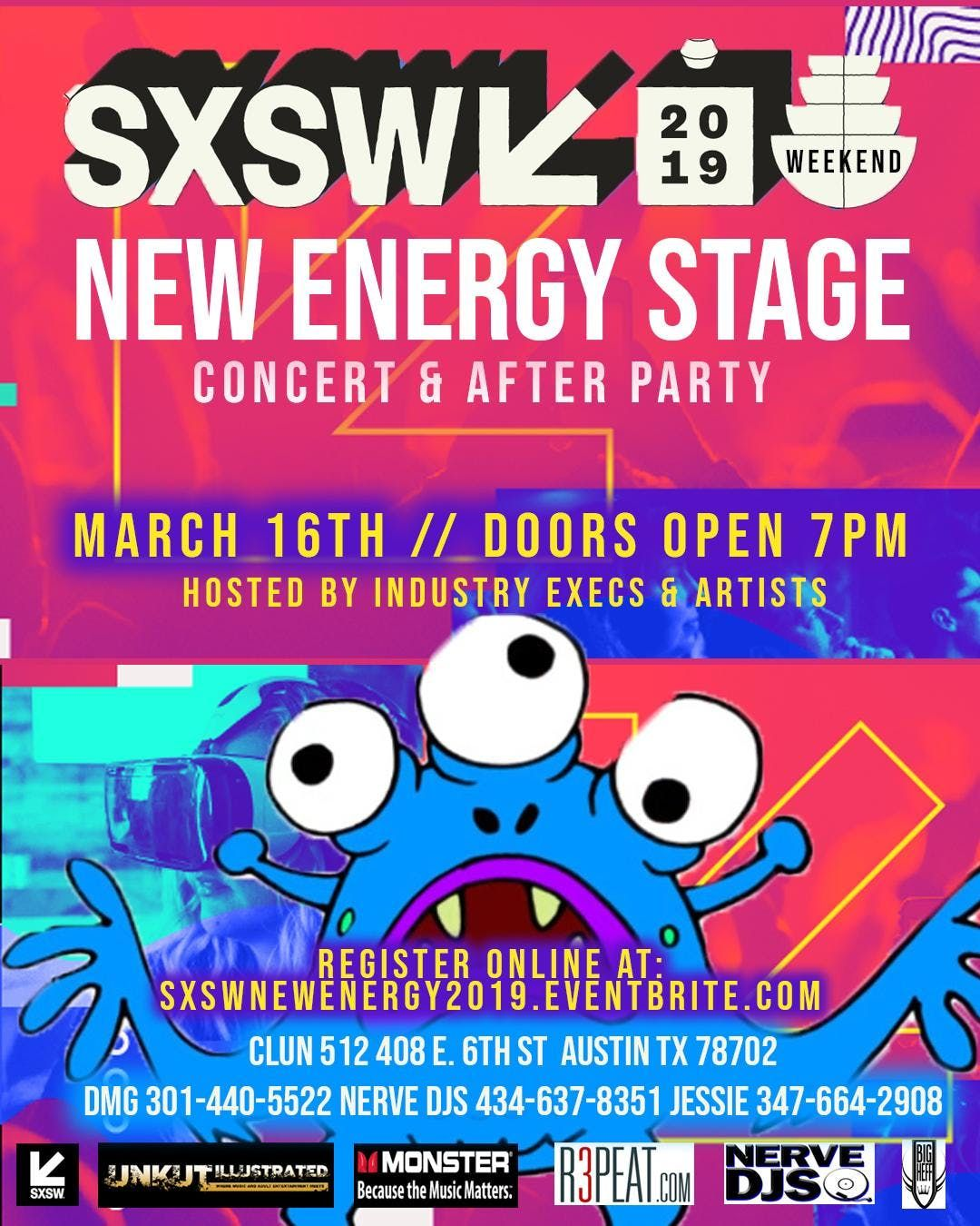 2019 SXSW NERVE DJS NEW ENERGY STAGE