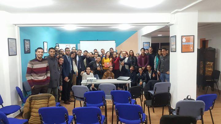 Entrepreneur Cafe Casablanca 53 Meeting