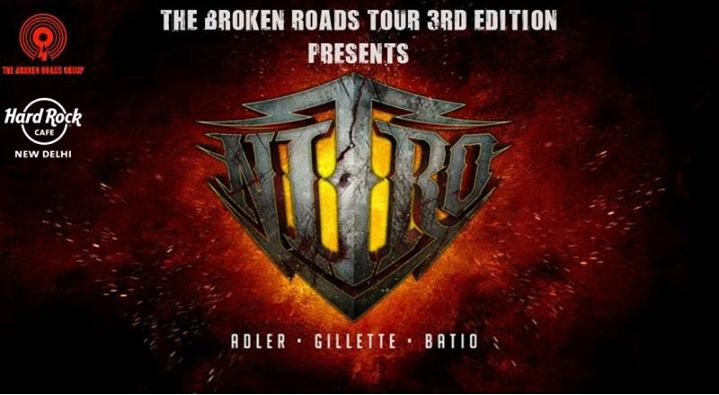 Nitro tour of India at Hard Rock Cafe New Delhi