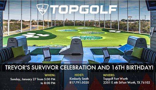 Cancer Free And 16 At Topgolf Fort Worth 2201 E 4th St Fort