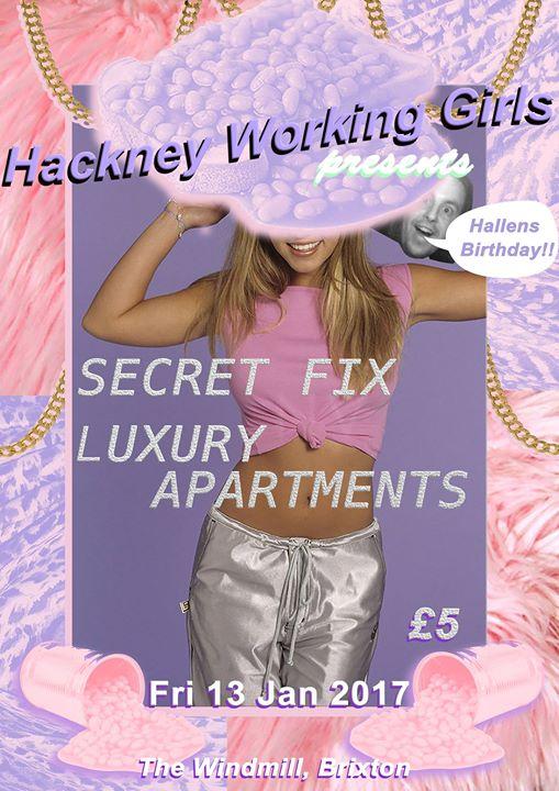 Hackney Working Girls presents Secret Fix  Luxury Apartments