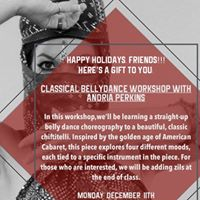 Workshop With Andria Perkins