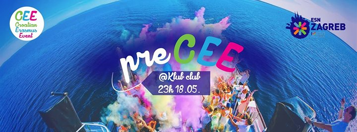PreCEE party with ESN Zagreb