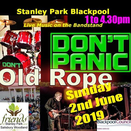 Stanley Park Bandstand Blackpool - Dont Panic & Old Rope