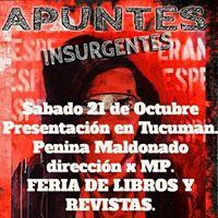 Presentacion Apuntes Insurgentes En Tucuman