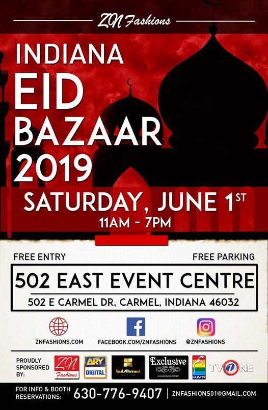 ZN Fashions Indiana EID Bazaar