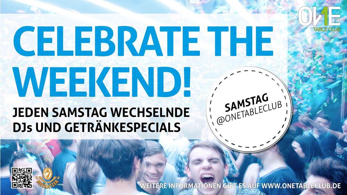 Samstags Party im OneTableClub Stuttgart