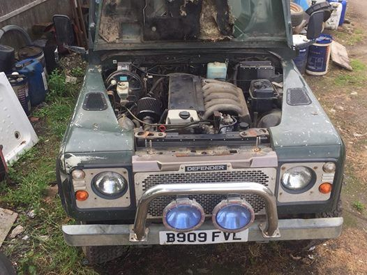 Merc Rover engineering of to the 4x4 expo