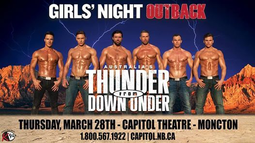 Thunder From Down Under - Moncton
