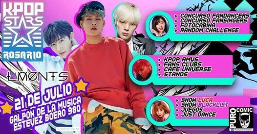 Kpop Stars Rosario 21 De Julio En El Galpon De La Musica Santa Fe