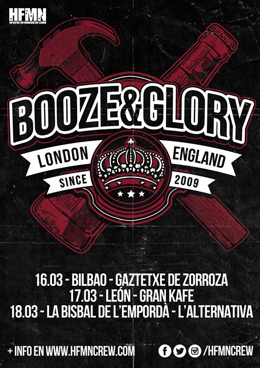 BoozeGlory London Milicians A LAlternativa Diumenge 18 Mar