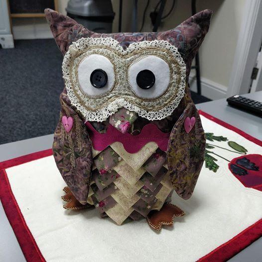 Make an owl doorstop