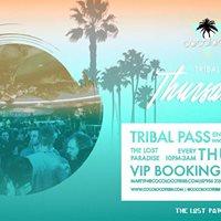 TRIBALThursdays at The Lost Paradise Bar 250118