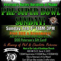 Pre-Super Bowl Sunday Event