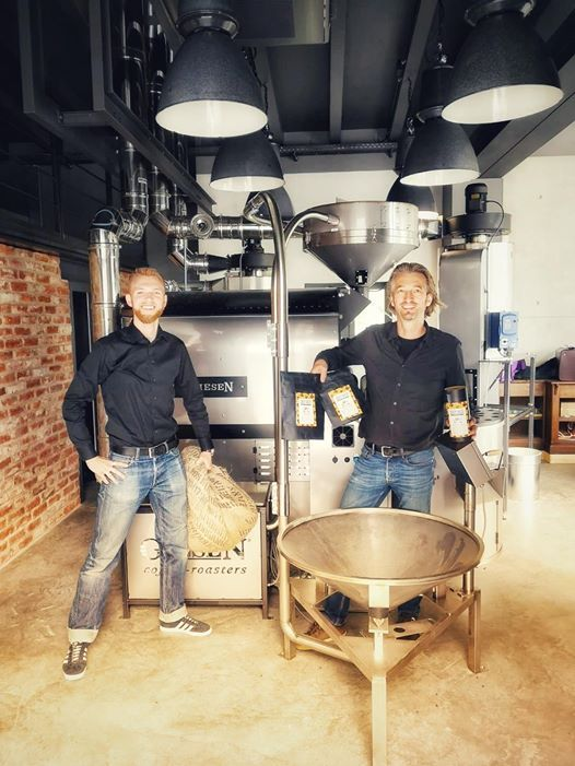 Erffnung CRAZY SHEEP KaffeeManufaktur