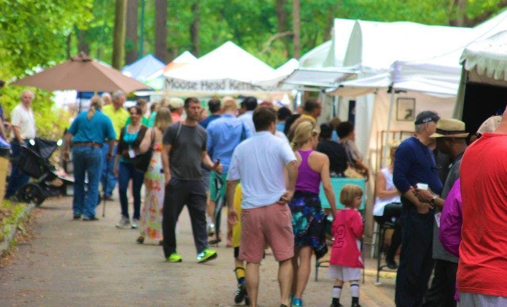 Chastain Park Spring Arts & Crafts Festival 2019