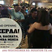 Grand Opening Wepaaaa Salsa Bachata Kizomba Mixer