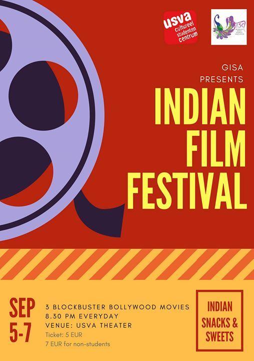 Indian Film Festival At Usva Cultureel Studentencentrum Groningen