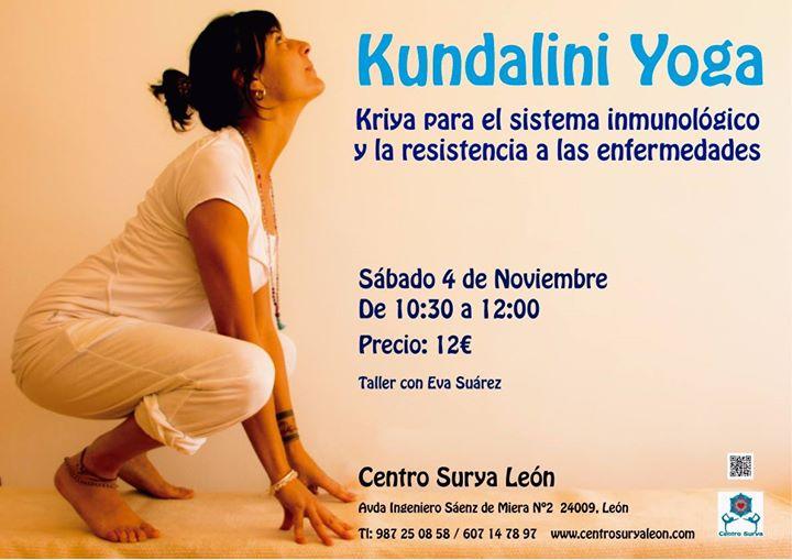 Kundalini Yoga  Kriya para fortalecer el sistema inmune  at Centro