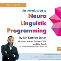 An Introduction to Neuro Linguistic Programming by Kamran Sultan