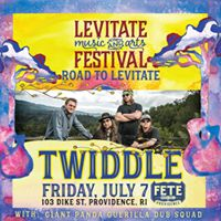 Road To Levitate with Twiddle Giant Panda Guerilla Dub Squad
