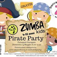 Zumba Kids Pirate Party