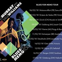 David Murray ft. Saul Williams - &quotBlues for Memo&quot tour