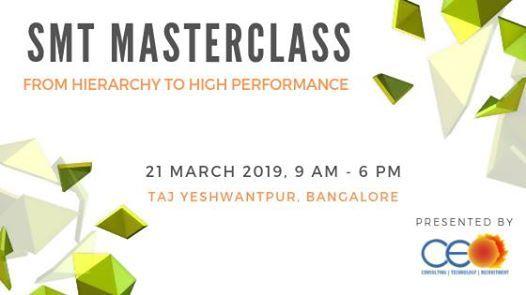 Self Managed Teams (SMT) Masterclass