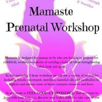 Mamaste Prenatal Workshop
