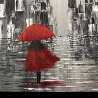 Paint the Girl With The Red Umbrella 25 Moreau NY