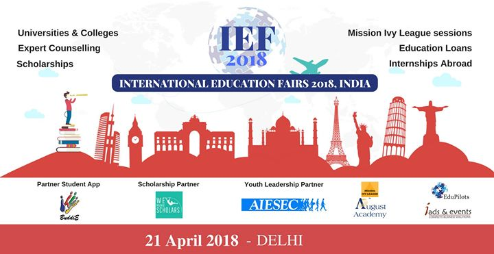 International Education Fair (IEF) - Delhi