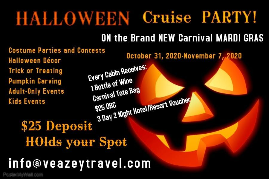 Halloween Events Fort Lauderdale 2020.Halloween 2020 On The Brand New Carnival Mardi Gras At Port