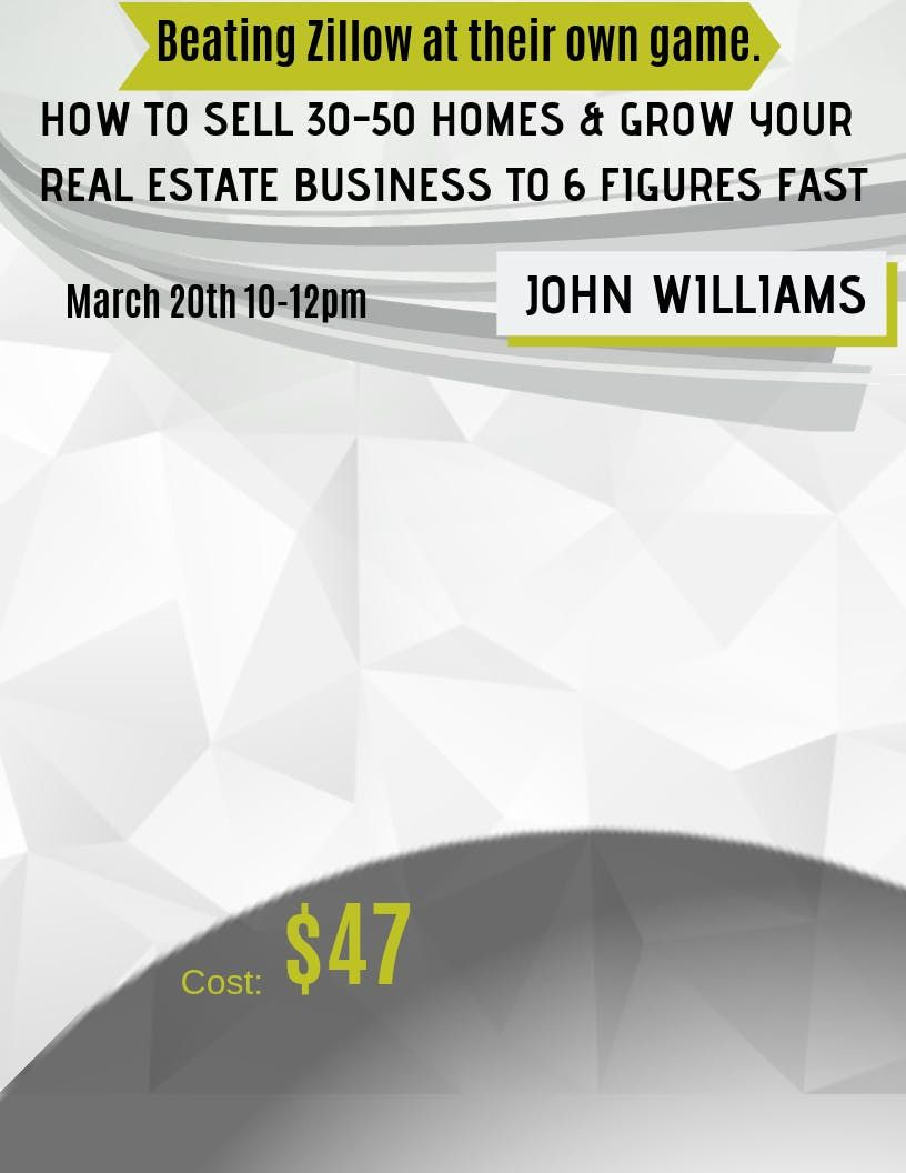 How To Sell 30-50 Homes & Grow Your Real Estate Business To 6 Figures Fast