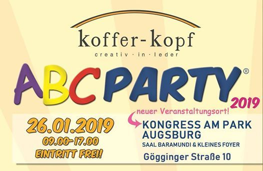 ABC Party Augsburg 2019  Schulranzenmesse by Koffer-Kopf