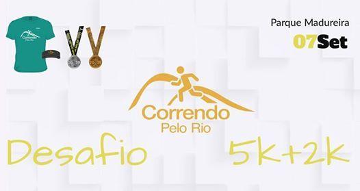 Desafio Correndo Pelo Rio 2019 - 5k  2k