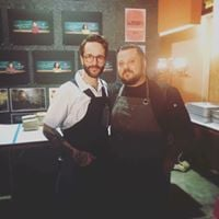 Collab beercider dinner with Chef Jeff Kraus &amp Chef Adam Allison with The Shope Beer Co and Cider Corps
