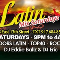 Latin Mix Saturdays - Club Cache 9PM Ladies Free Bef 12