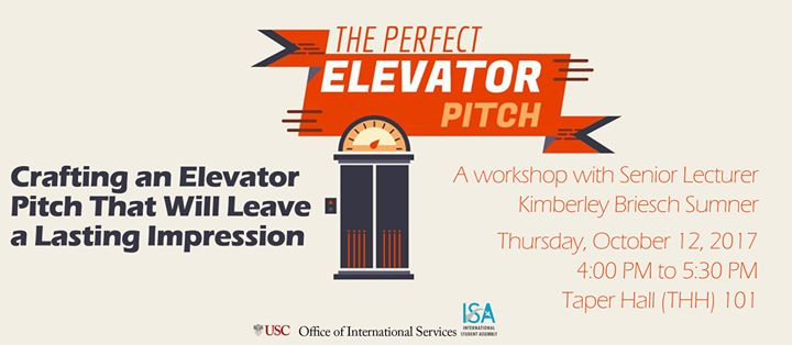 OIS The Perfect Elevator Pitch