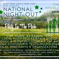 West Park View &amp Park View Civic Leagues National Night Out