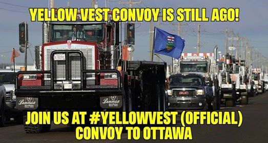 Yellow Vest (Official) Convoy to Ottawa