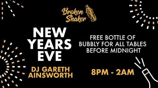 New Years Eve Party at The Broken Shaker