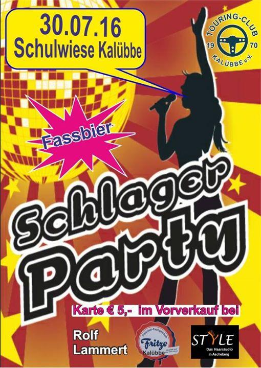 Schlagerparty Kalübbe at Kalübbe, Germany, Kalübbe