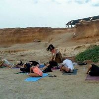 YOGA on the beach in IBIZA (Benirras)