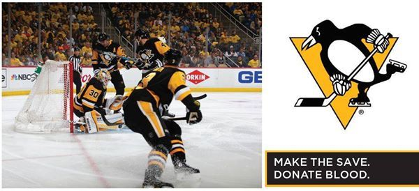 Pittsburgh Penguins Gameday Blood Drive
