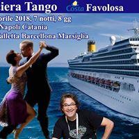 Crociera Tango 2018 - 4 ediz con Alberto Bersini e Paola Pinessi