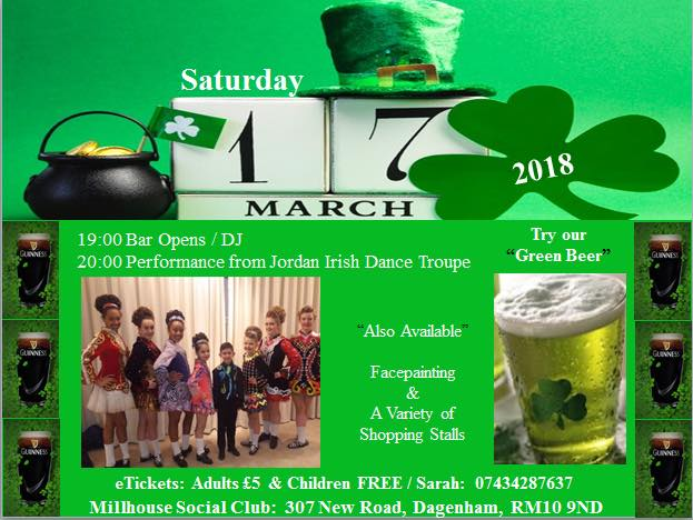 the latest bcc94 a9132 St Patrick s Day Celebrations - GREEN PARTY