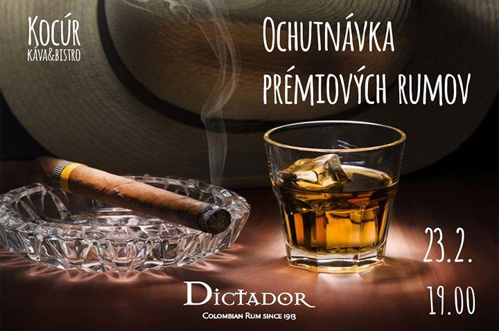 Ochutnvka prmiovch rumov u Kocra