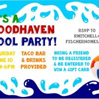 Woodhaven Pool Party