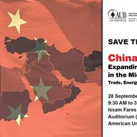Save the Date Chinas Expanding Influence in the Middle East