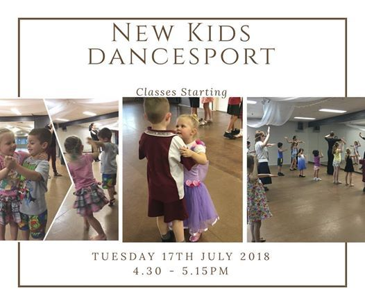 New Kids Dancesport Classes